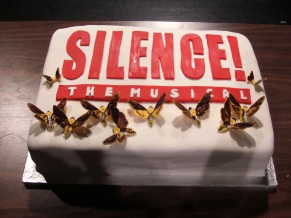 Photo Flash: SILENCE! The Musical Celebrates 100 Performances