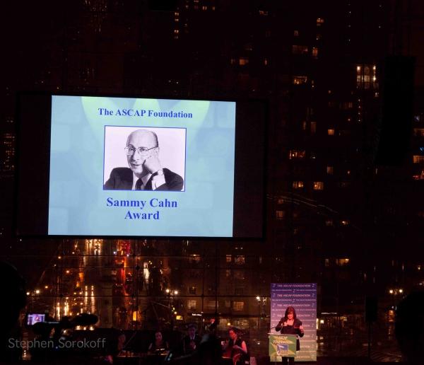 Tita Cahn & Sammy Cahn at ASCAP Foundation Honors Stephen Schwartz with Richard Rodgers Award