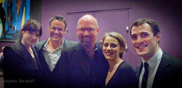 Adam Guettel, Scott Coulter, Judy Kuhn, Jesse Kissel