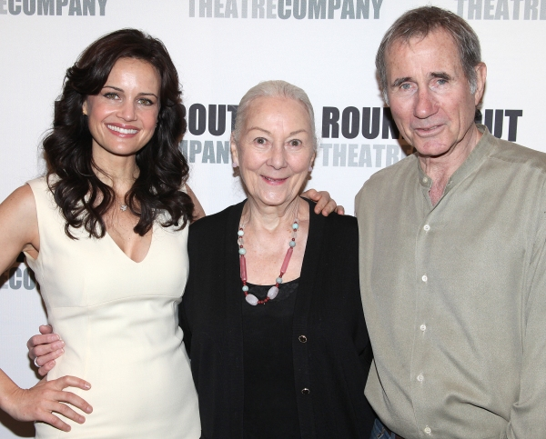 Photo Coverage: Meet Carla Gugino, Rosemary Harris and the Cast of Roundabout's THE ROAD TO MECCA