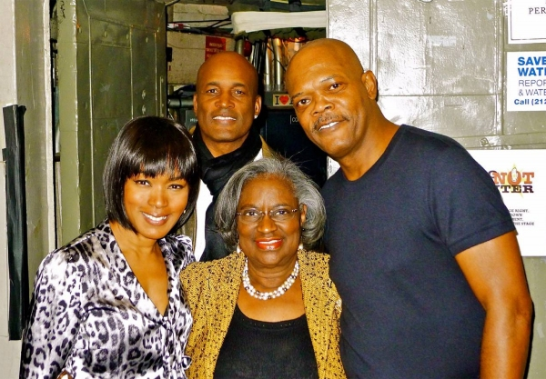 Juanita Jones Abernathy and cast of THE MOUNTAINTOP