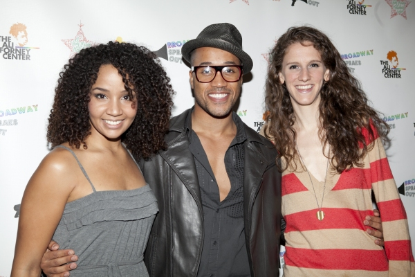Stephanie Umoh, Joseph Anthony Byrd and Zoe Sarnak
