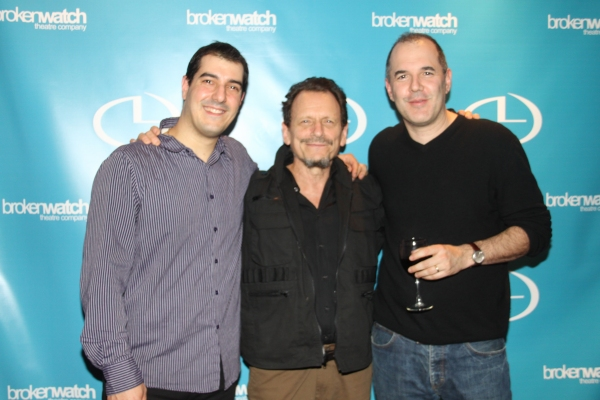 Drew DeCorleto, Michael Weller and David Auburn