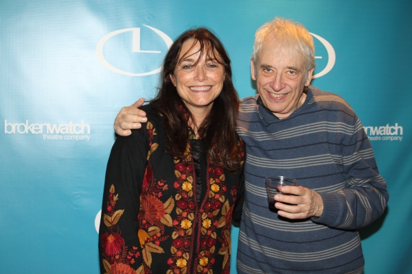 Karen Allen and Austin Pendleton at Broken Watch Opens Michael Weller's SEX GOOD, MONEY BAD