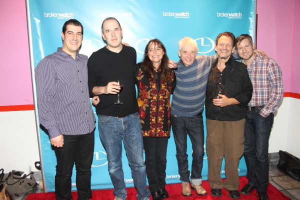 Drew DeCorleto, David Auburn, Karen Allen, Austin Pendleton, Michael Weller and Tony Speciale