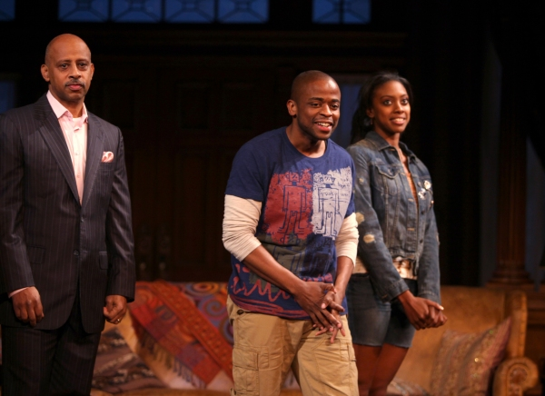 Photo Coverage: STICK FLY Opening Night Curtain Call