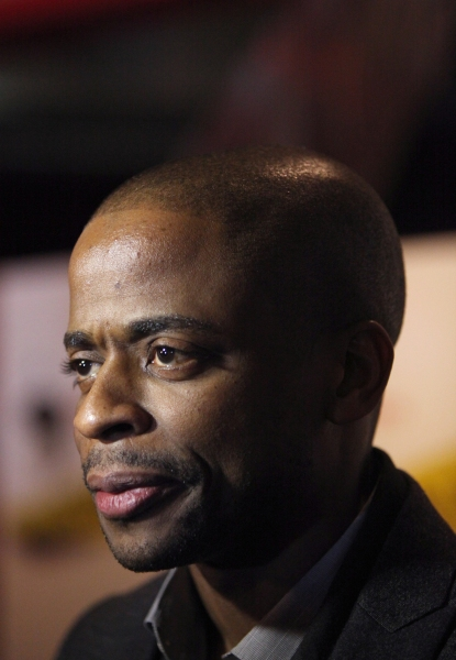 Dule Hill  at STICK FLY Celebrates Opening Night
