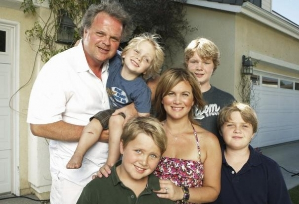 Roby Marshall, Tracey Gold & Family