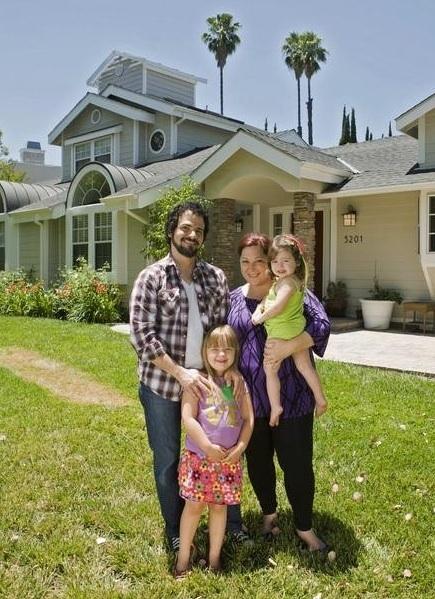 Rob Bonfiglio, Carnie Wilson & Family