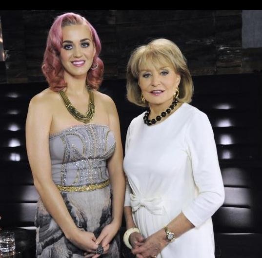 Katy Perry & Barbara Walters