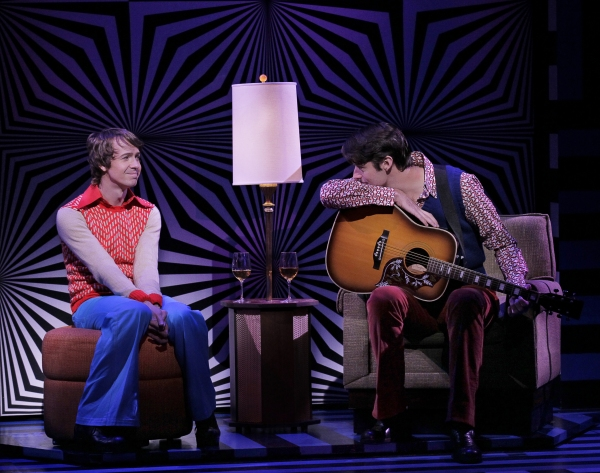 On A Clear Day You Can See Forever Production Photo - David Turner as David Gamble and Drew Gehling as Warren Smith inOn a Clear Day You Can See Forever Credit Photo: Paul Kolnikstudio@paulkolnik.comnyc 212-362-7778
