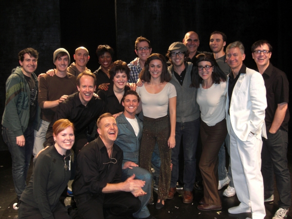 Photo Flash: Josh Groban visits SILENCE! The Musical
