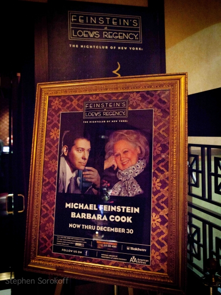 Photo Coverage: Michael Feinstein & Barbara Cook Play Feinstein's at Loews Regency