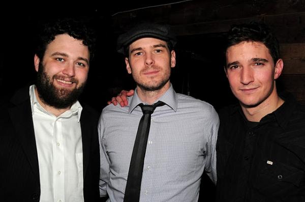 Samuel Brett Williams, Malcolm Madera and Jake Silbermann Photo