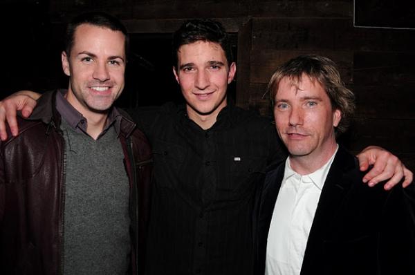 John Driscoll, Jake Silbermann and Anthony Sweeney