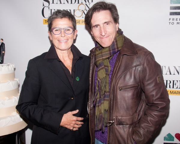 Kate Clinton and Paul Rudnick Photo