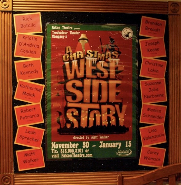 Photo Flash: Troubadour Theater Company's A CHRISTMAS WESTSIDE STORY Opens!