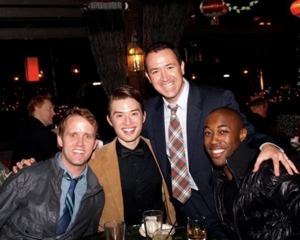 Nick Lorenzini, Chester Lockhart, Steven Glaudini and Louis Williams Photo