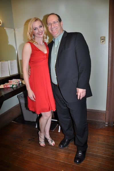 Rita Harvey and Neil Berg at Rob Evan and Neil Berg Host Broadway All-Star Holiday Concert in Irvington, NY
