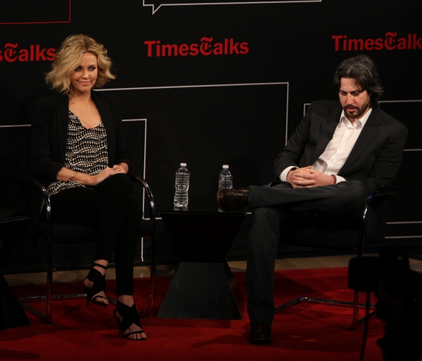 Charlize Theron & Jason Reitman