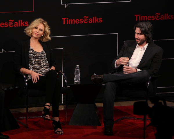 Charlize Theron & Jason Reitman at TimesTalks with Charlize Theron and Director Jason Reitman!
