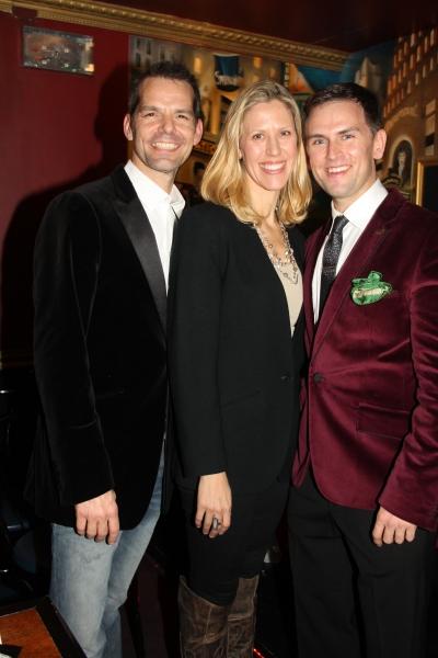 J. Robert Spencer, Jenny-Lynn Suckling and Daniel Reichard