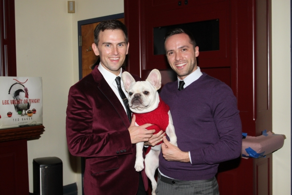 Daniel Reichard, Bosco and Patrick McCollum at Daniel Reichard Brings 'Christmas Present' Concert to the Triad