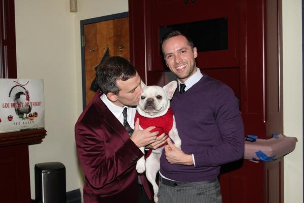 Daniel Reichard, Bosco and Patrick McCollum at Daniel Reichard Brings 'Christmas Present' Concert to the Triad