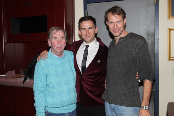 Kimothy Cruse, Daniel Reichard and Alden Fulcomer