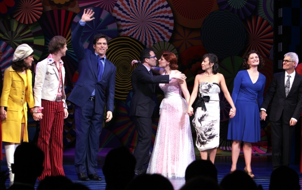 David Turner, Harry Connick Jr., Jessie Mueller & Company with Michael Mayer, Joann M Hunter & Peter Parnell