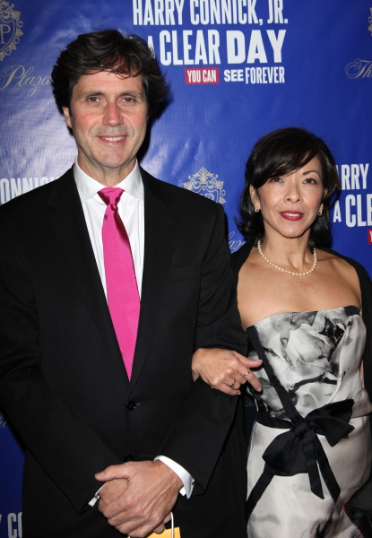 Joann M. Hunter & guest  at Starry Theatre Arrivals for ON A CLEAR DAY YOU CAN SEE FOREVER!