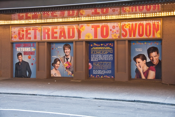 UP ON THE MARQUEE: ON A CLEAR DAY YOU CAN SEE FOREVER