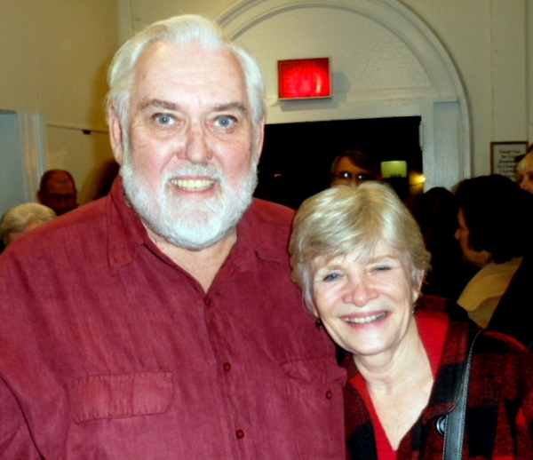 TERI RALSTON, JIM BROCHU at THE MAN WHO CAME TO DINNER