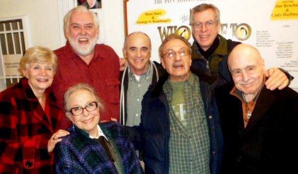 TERI RALSTON, MARGE CHAMPION, JIM BROCHU, IRA DENMARK, JOSEPH R. SICARI, Composer/Performer STEVE SCHALCHLIN, BILLY GOLDENBERG at THE MAN WHO CAME TO DINNER