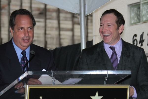 Jon Lovitz & Steve Guttenberg at Steve Guttenberg Honored With Star on Hollywood Walk of Fame