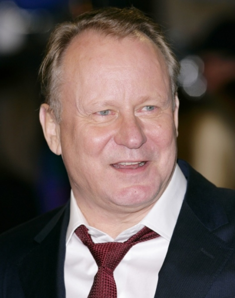Stellan Skarsgard at London Premiere of GIRL WITH THE DRAGON TATTOO