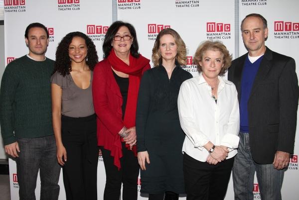 Greg Keller, Carra Patterson, Lynne Meadow, (Director), Cynthia Nixon, Suzanne Bertish, Michael Countryman