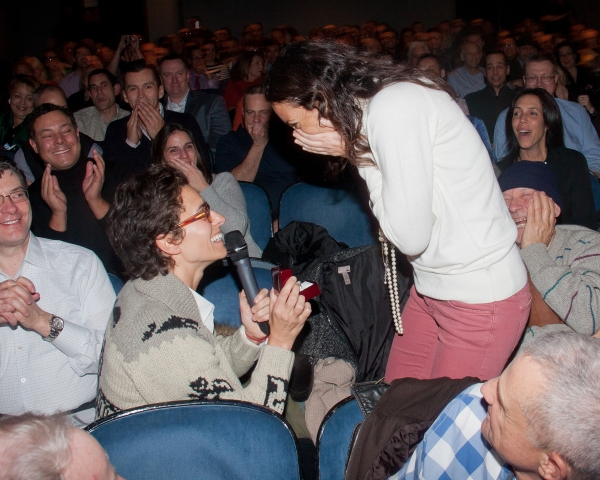 Photo Flash: STANDING ON CEREMONY Sees a Surprise Proposal!