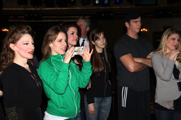 Lori Wilner,  Jessie Mueller, Alysha Umphress, Harry Connick Jr., Heather Ayers & Company