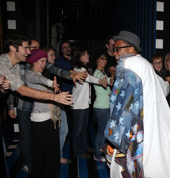 Photo Coverage: ON A CLEAR DAY YOU CAN SEE FOREVER Gypsy Robe Ceremony!