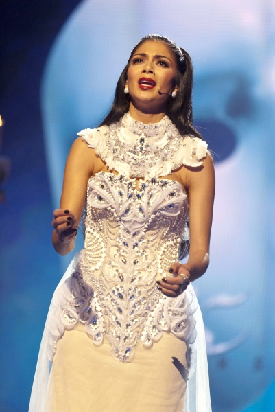 Photo Flash: Nicole Scherzinger Sings PHANTOM at Royal Variety!