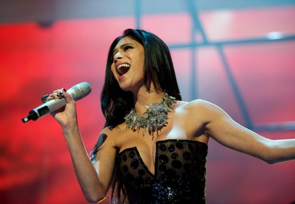 Nicole Scherzinger at Nicole Scherzinger Sings PHANTOM at Royal Variety!