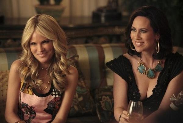 Kristin Chenoweth & Miriam Shor at First Look - Kristin Chenoweth on CBS's GCB Premiering 3/4
