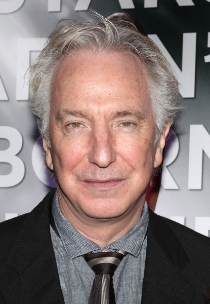 Alan Rickman at La serie 'Smash' se presenta en Broadway