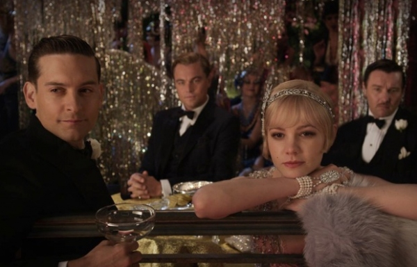 Tobey Maguire, Leonardo DiCaprio & Carey Mulligan at First Look - THE GREAT GATSBY Coming in 2012
