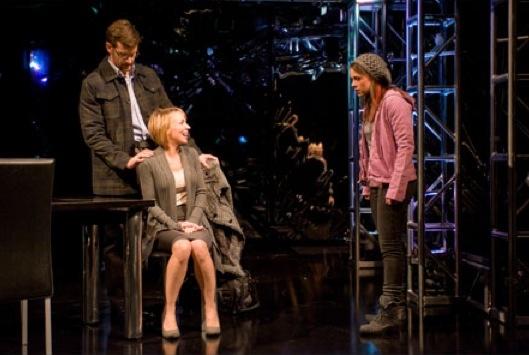 Kevin Vortmann, Sarah Litzsinger, Laurie Veldheer at The Rep's NEXT TO NORMAL, Starring Sarah Litzsinger, Jarrod Emick, et al.