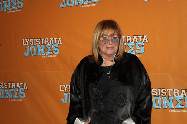 Penny Marshall at LYSISTRATA JONES Opening Night Party