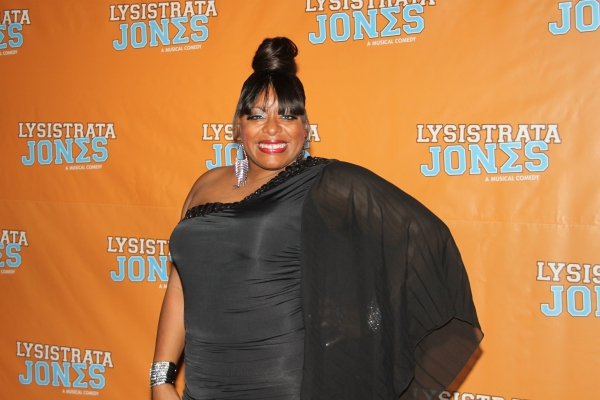 Lavon Fisher-Wilson at LYSISTRATA JONES Opening Night Party