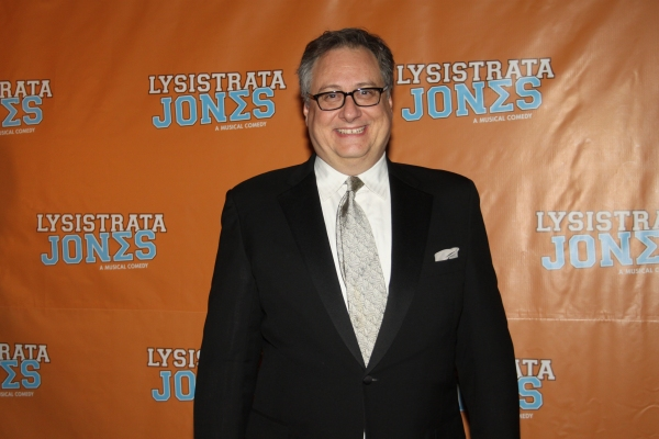 Douglas Carter Bean at LYSISTRATA JONES Opening Night Party