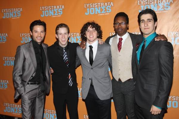Jason Tam, Alex Wyse, Teddy Toye, Ato Blankson-Wood and Alex Aguilar